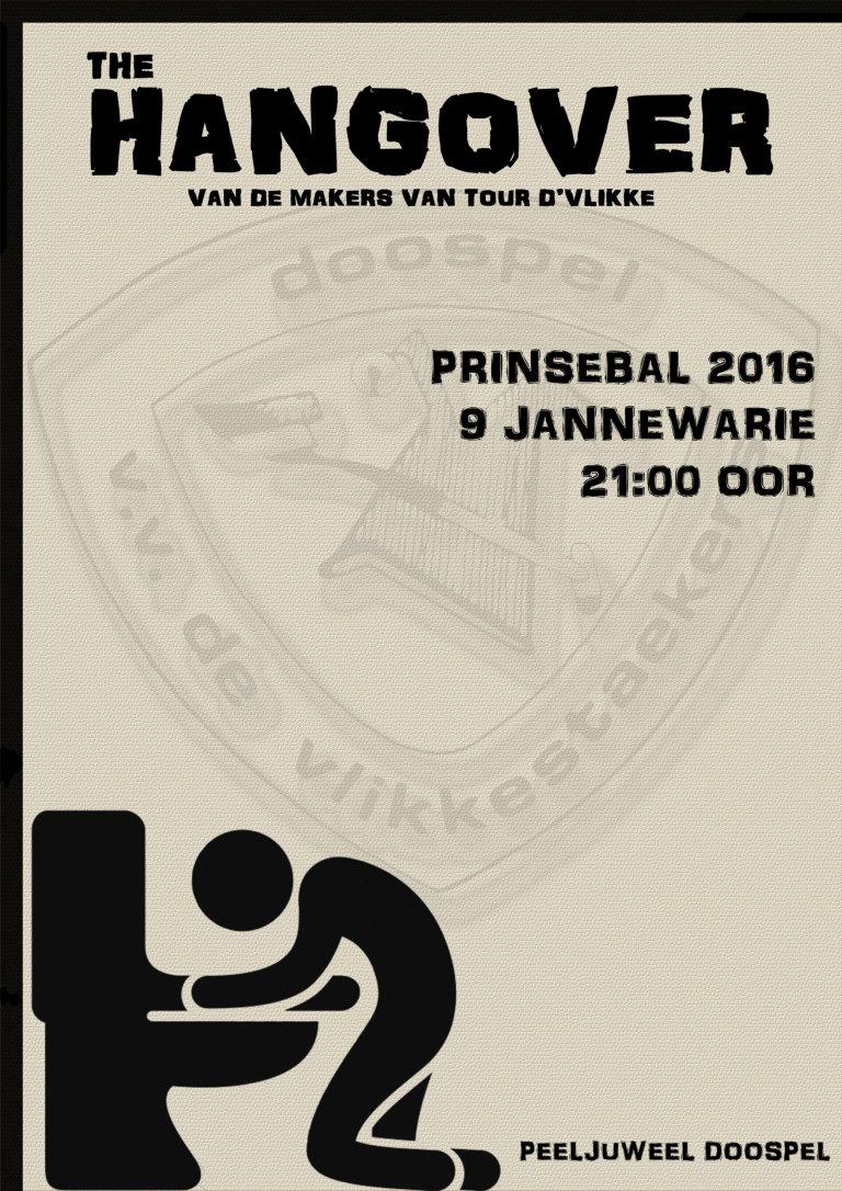 Poster prinsenbal 2016 - The Hangover web