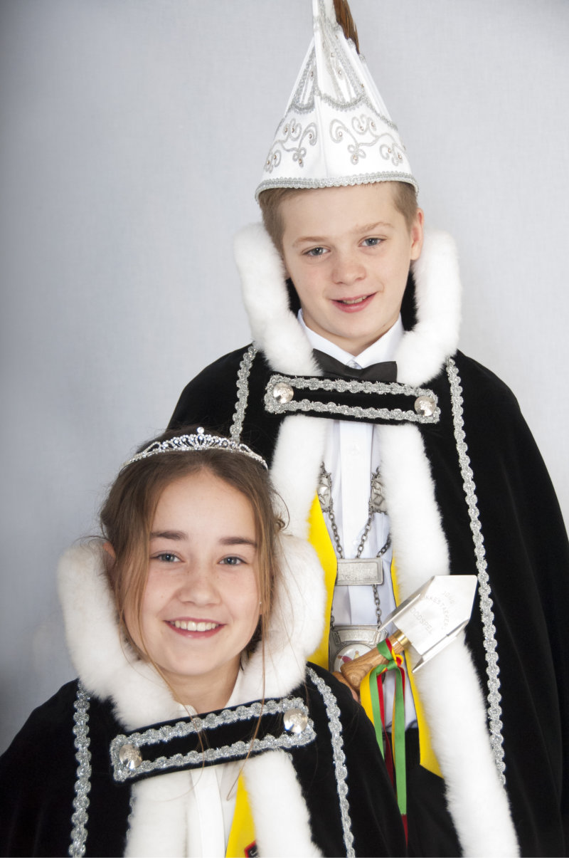 Prinsenpaar Jong vlikkestaekers 2015